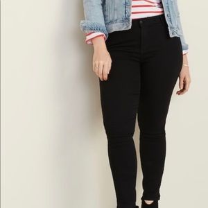 OLD NAVY MID RISE SUPER SKINNY JEANS